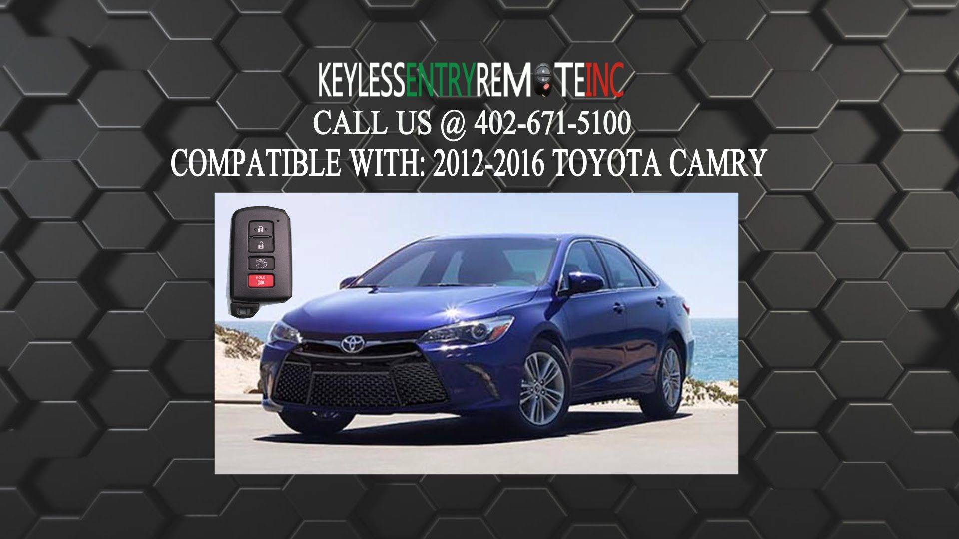 How To Replace A Toyota Camry Key Fob Battery 2012 2016