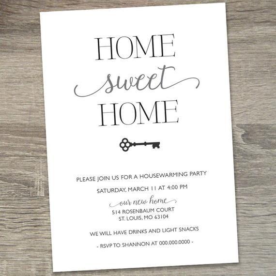 Housewarming Party Invitation   Housewarming Invit