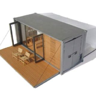 Container house - easy fabrication