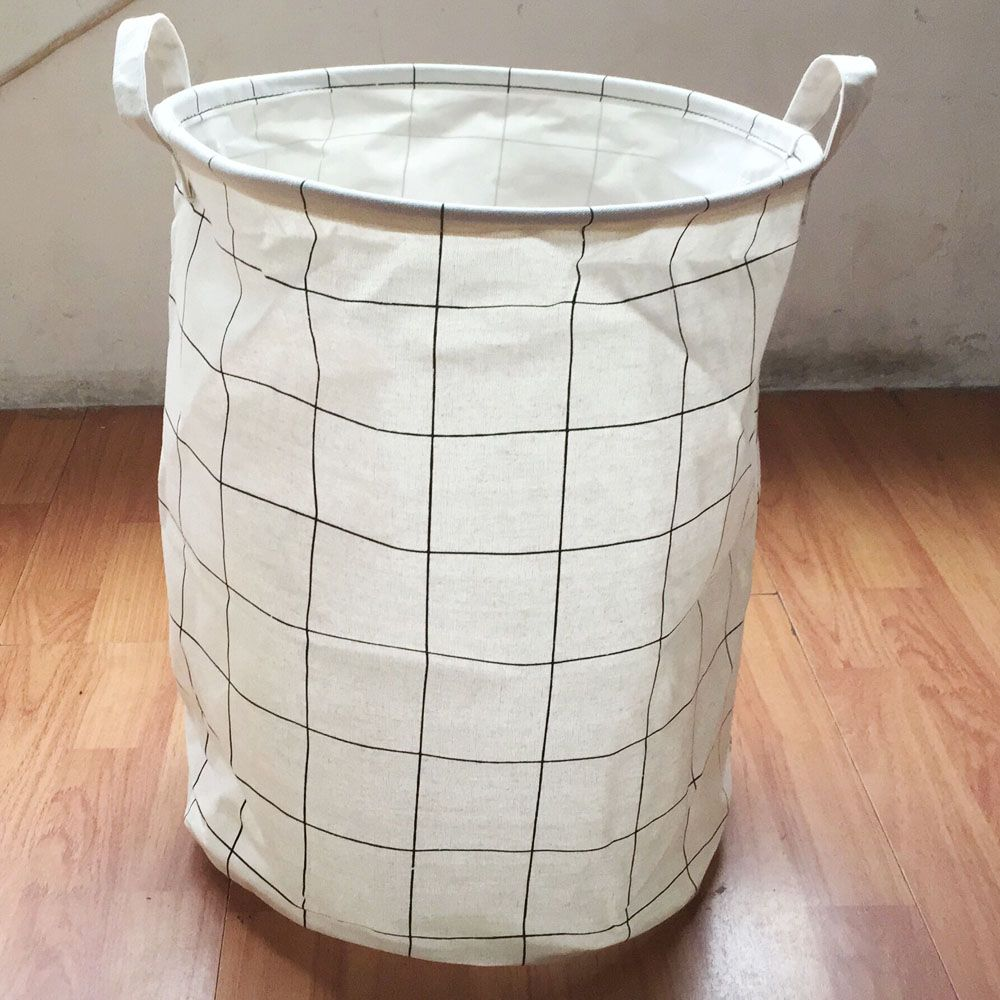 Popular And Nice Square Design 35 45cm Laundry Basket With Handles