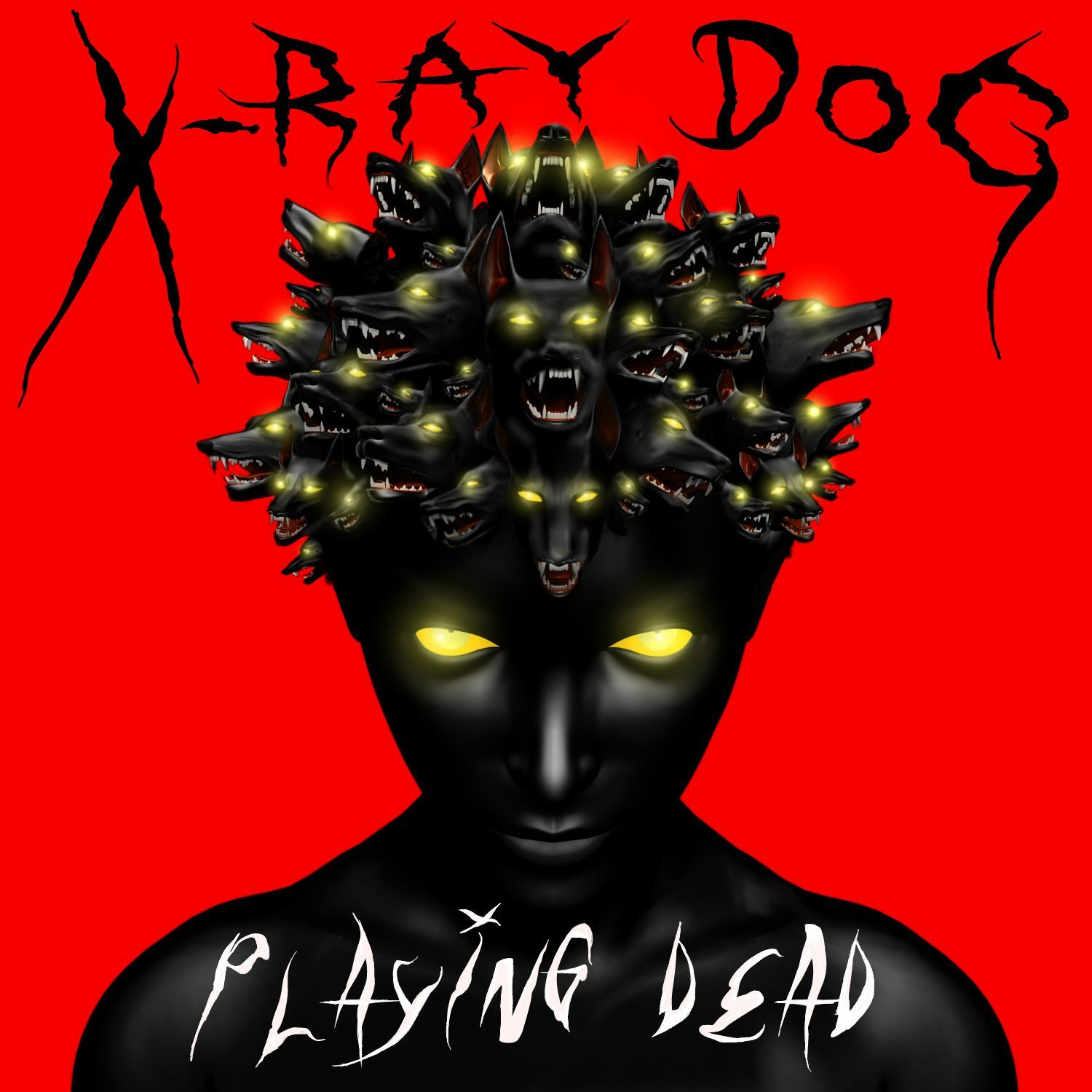 Album Cover For X Ray Dog Music Inc Art And Design By Paul Kolbach Album Covers Album Cover