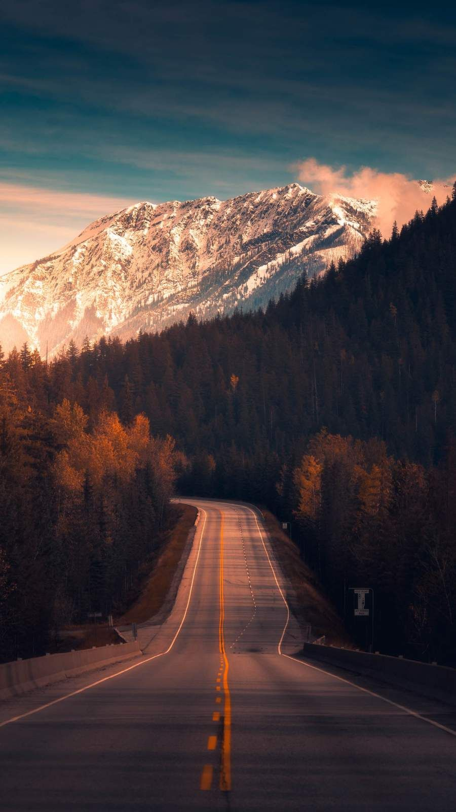 Canadian Roads iPhone Wallpaper (With images) Space