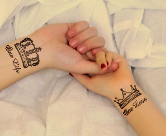 Matching Tattoos For Couples To Express Their Everlasting Love