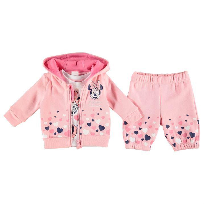 tout neuf a9c7d 898d0 Disney Baby Minnie Mouse Tracksuit Set | Girl clothes ...