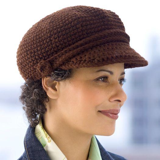 Newsboy Cap   Hut-Muster, Mütze und Handschuh