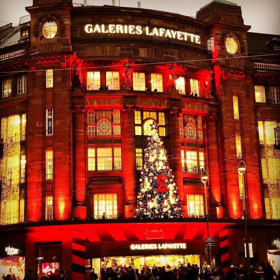 Strasbourg Weihnachten Xmas Galerieslafayette Galeries Lafayette Broadway Shows Instagram