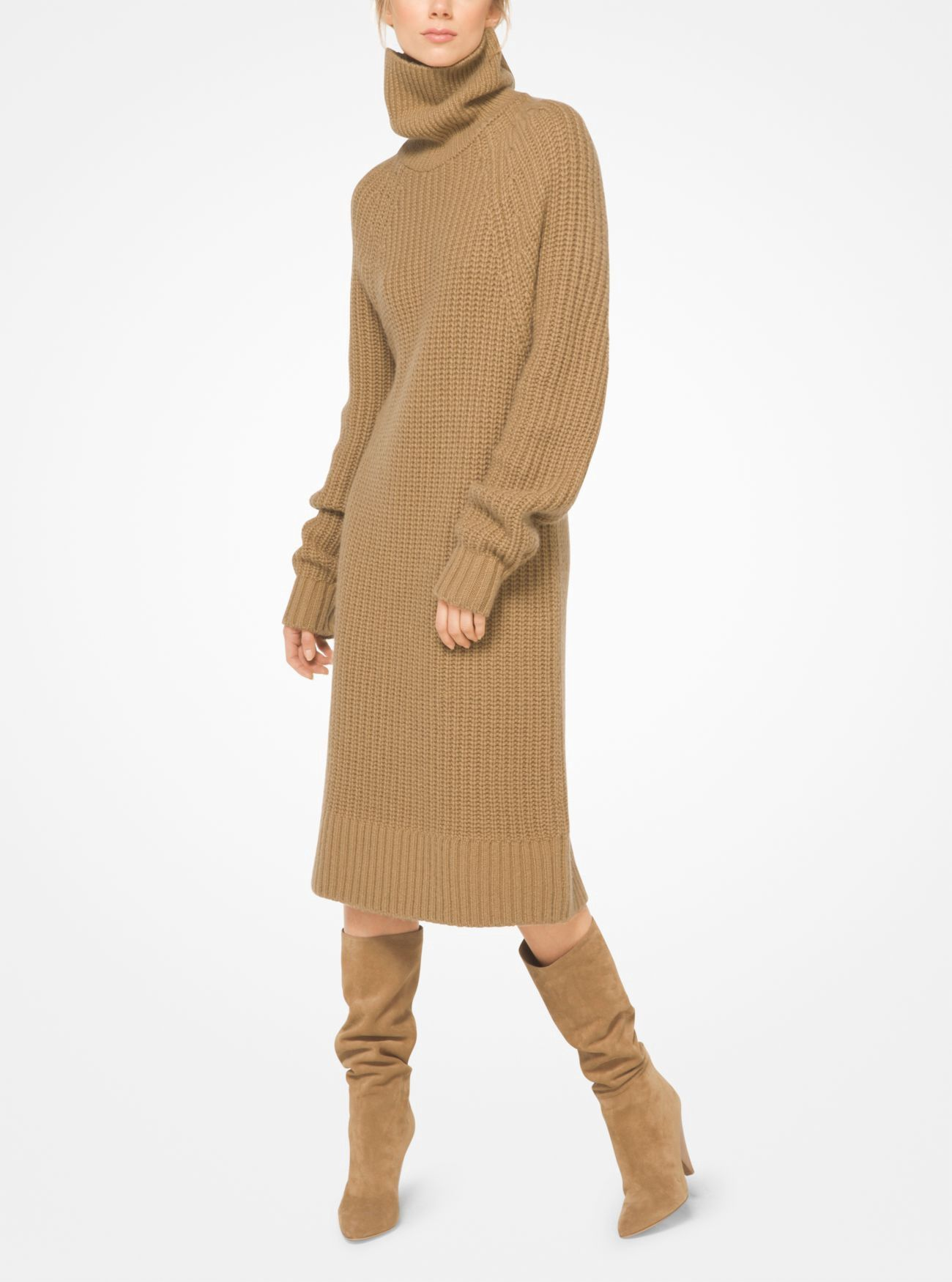 1fdd44df355aa9 MICHAEL KORS Cashmere and Mohair Sweater Dress.  michaelkors  cloth ...
