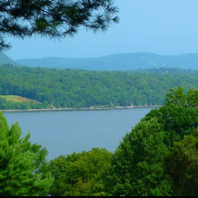 Beautiful Places Hudson Valley: Hudson River - View From Rhinebeck, NY