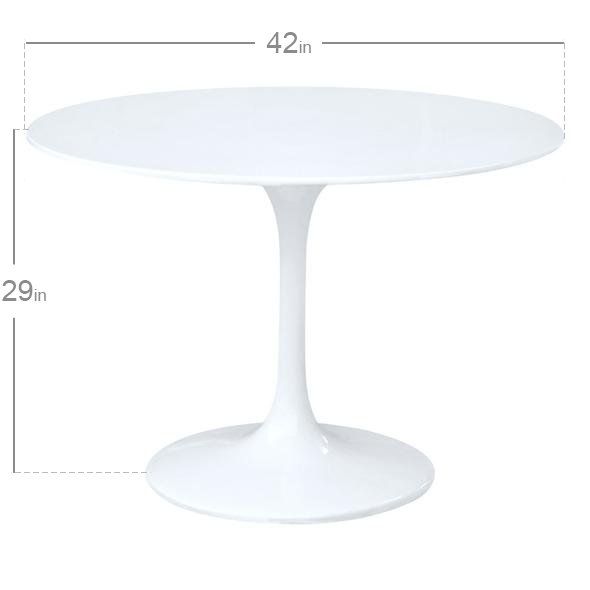Eero Saarinen Tulip Table 42 Modholic Com Saarinen Tulip