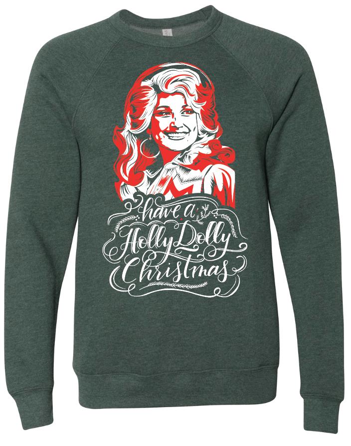 Holly Dolly Christmas Rocket Shirts Rocket shirts