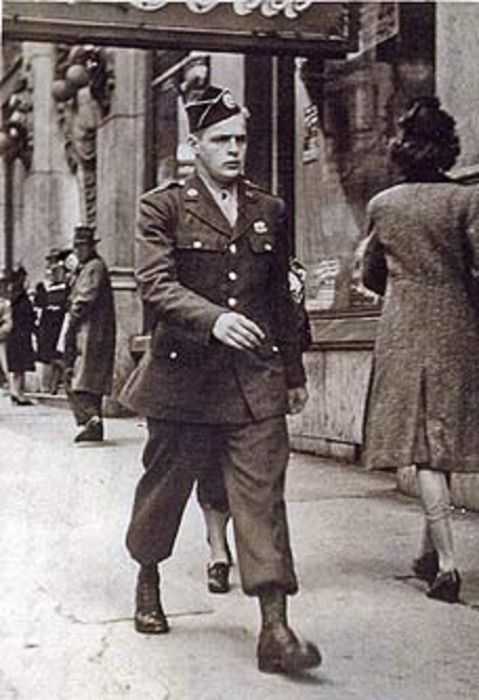 Don Malarkey on leave in Atlanta 1943