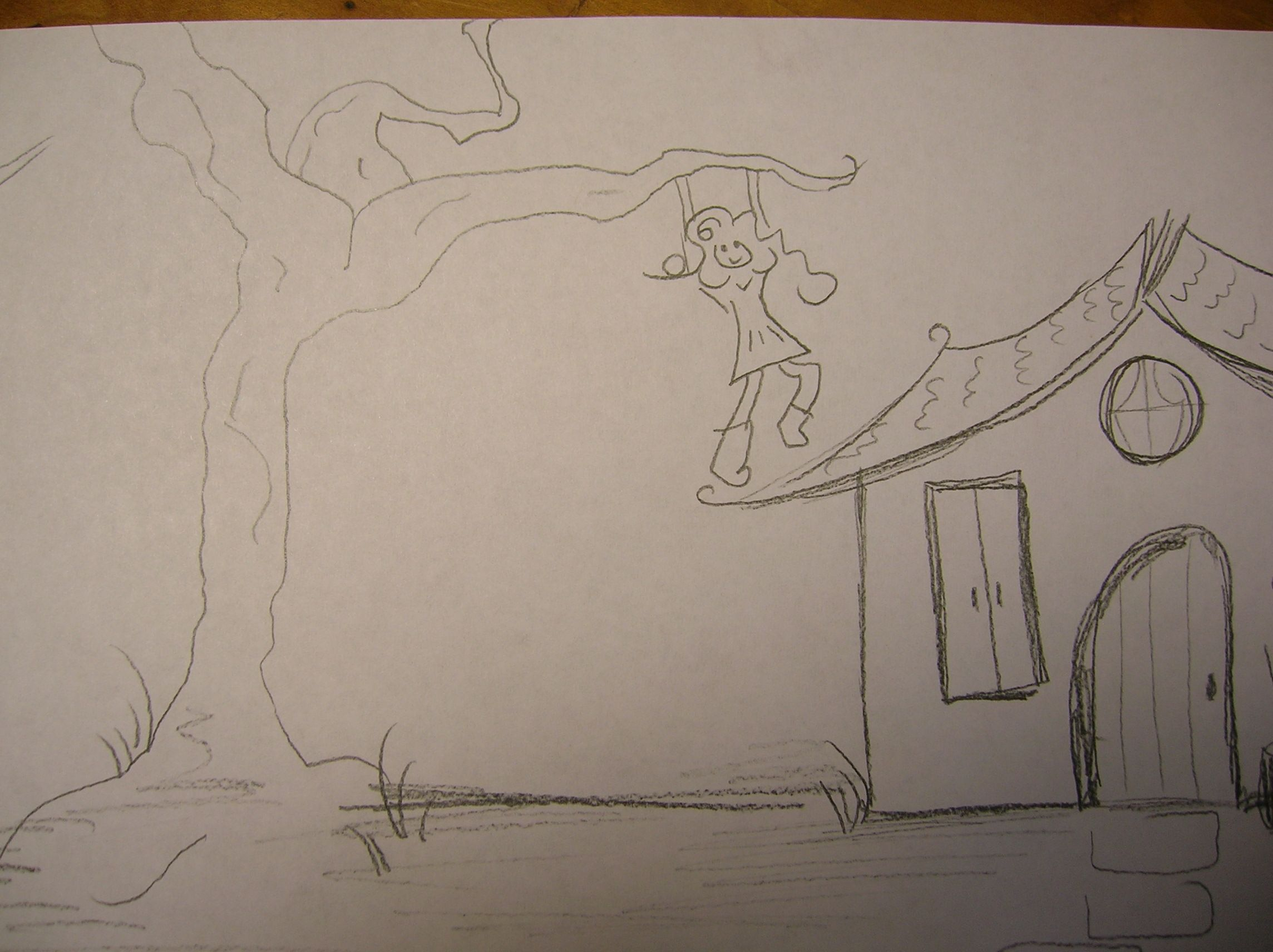 Htp House Tree Person Art Therapy Directive