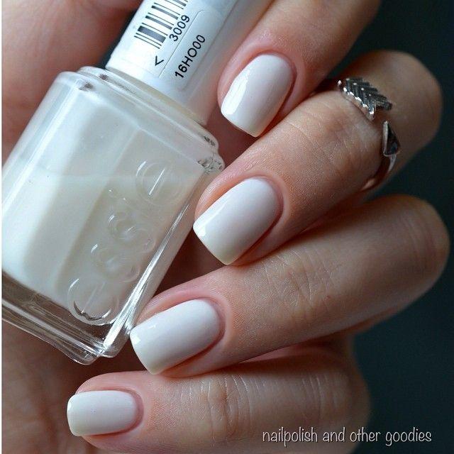 Essie Marshmallow! | nails | Pinterest
