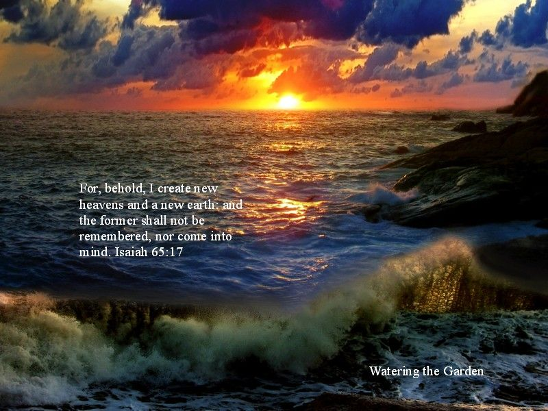 New Heaven and Earth | Heavens, Earth and Scriptures