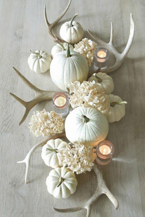 Herbst Deko wunderschöne und einfache herbstdeko basteln tischdekorationen