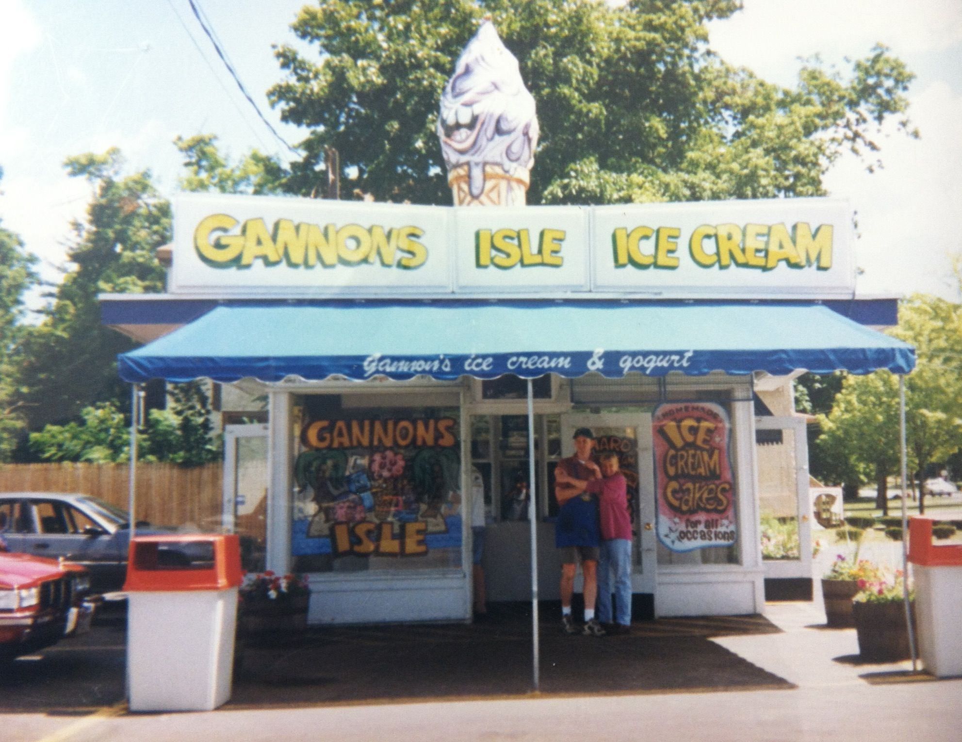 Throwback! Thanks for the support! Grab some ice cream at ...