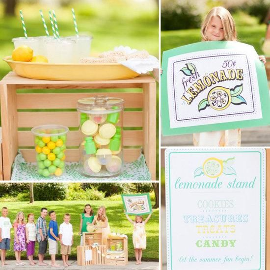 lilsugar 39 s kids 39 lemonade stand ideas summer kid On kids lemonade stand ideas