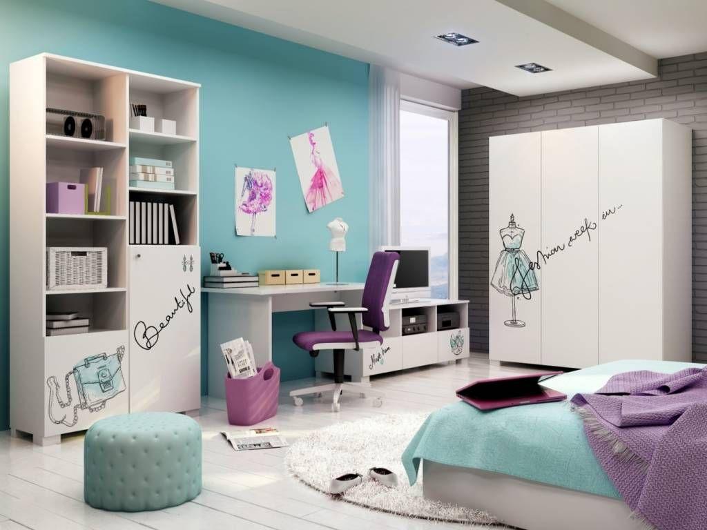 Fashion Mint Moderne Kinderzimmer Von Mobelgeschaft Meblik Modern Homify Kinder Zimmer Madchen Mobel Turkises Kinderzimmer