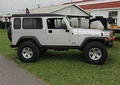 2004 jeep wrangler lj hardtop