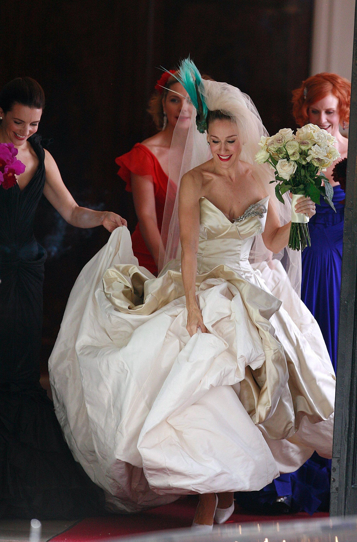 Vivienne westwood wedding dress  Sarah Jessica Parker  Vivienne westwood Vivienne and Sarah jessica