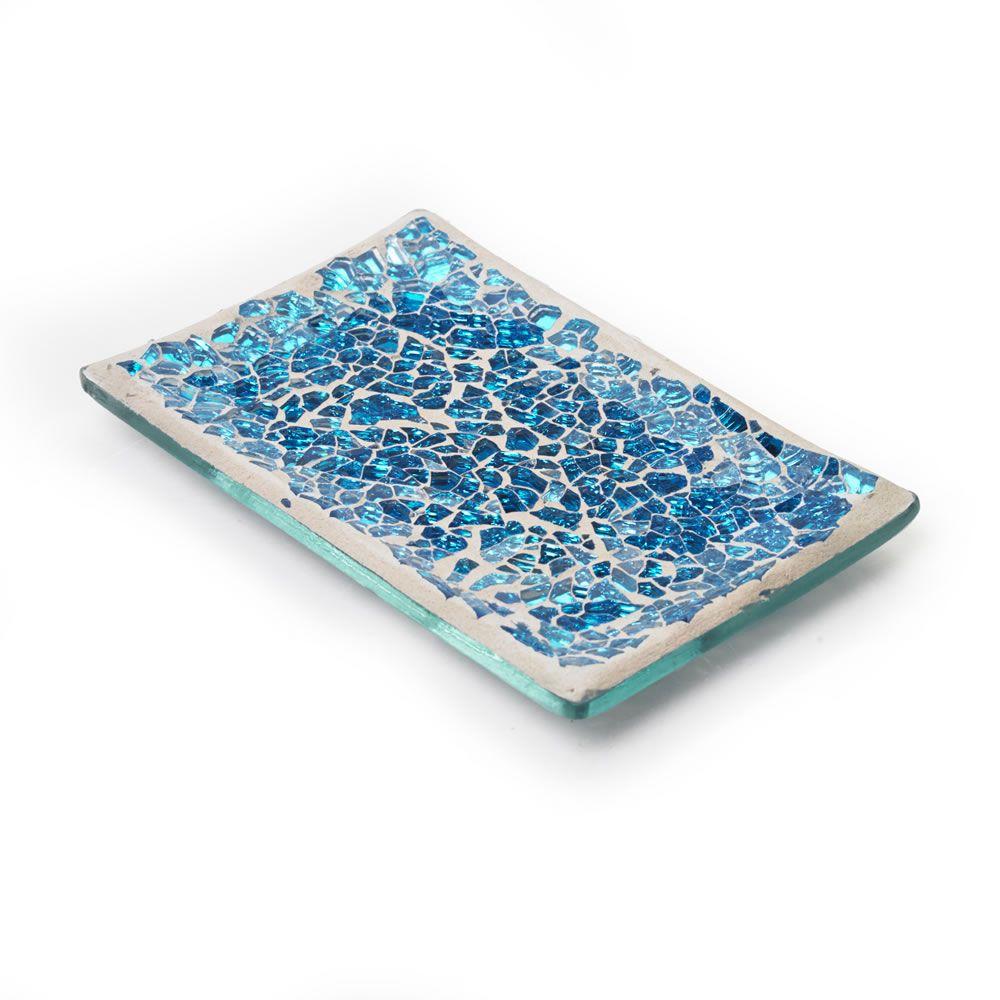 Wilko Mosaic Soap Dish Aqua at wilko.com | New bathroom ...