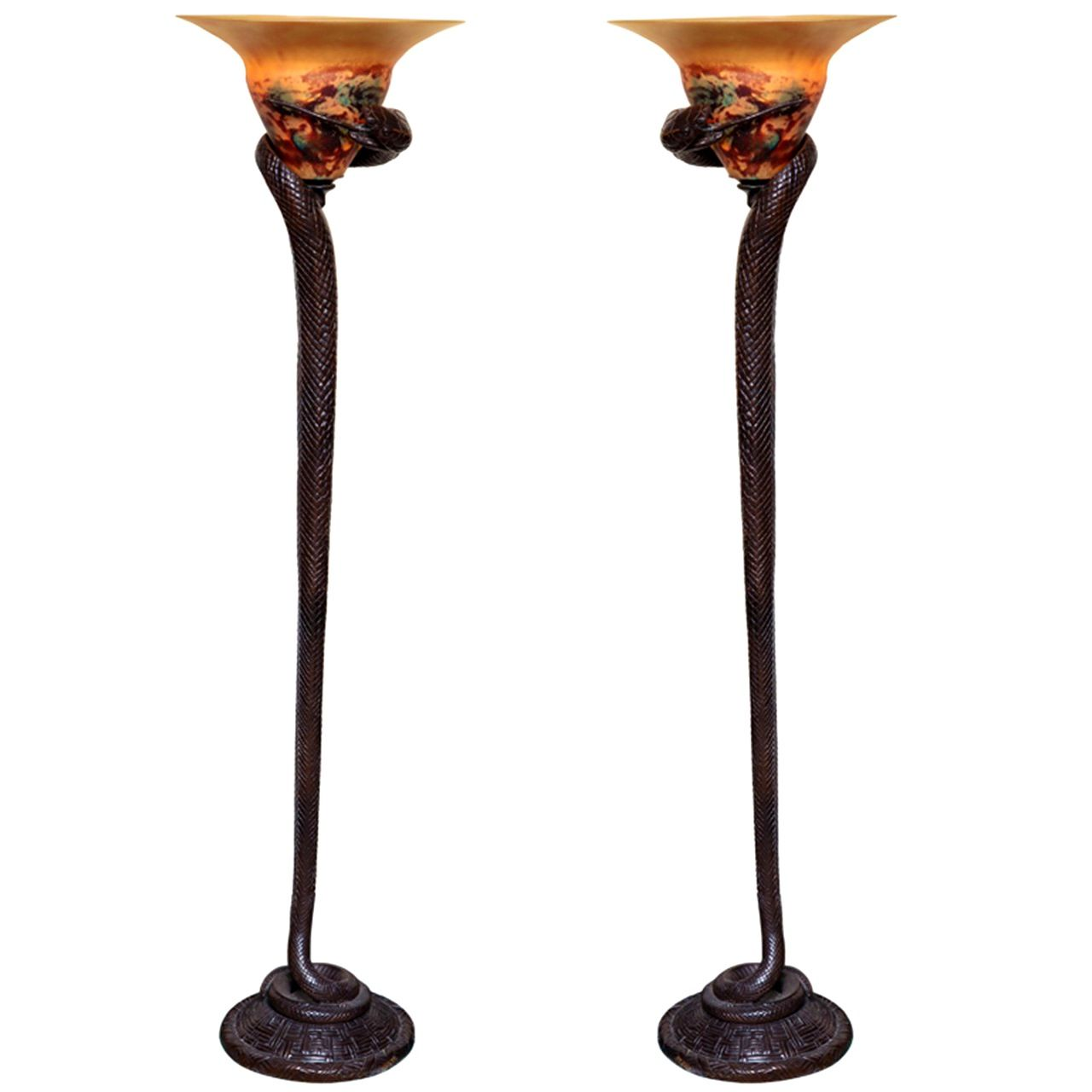 Art Deco Floor Lamp Prepossessing Furnitureattractive Images About Art Deco Lighting Floor Lamps Review