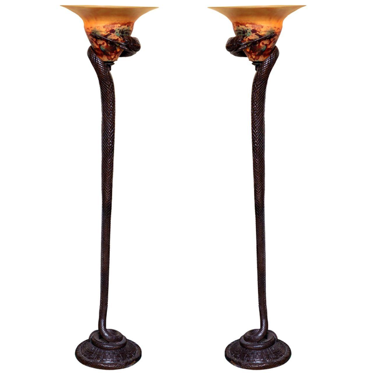 Art Deco Floor Lamp | liminality360.com