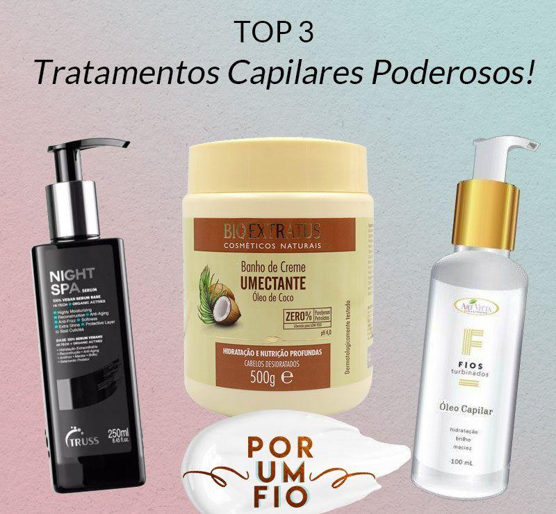 Tratamentos Capilares Poderosos Top 3 Com Imagens Tratamento