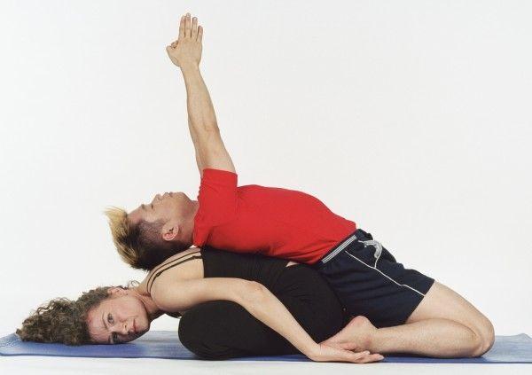 Partner Child Pose Yoga Weekly