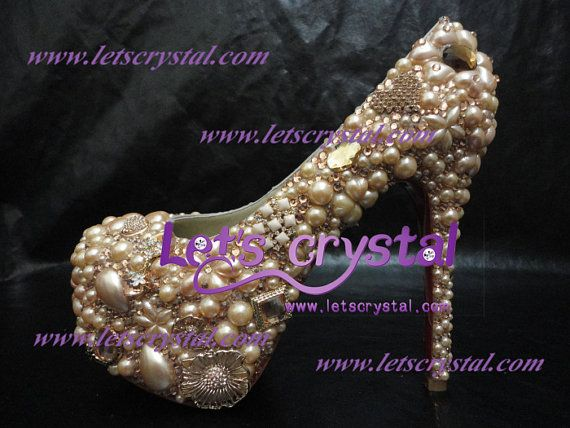 CL Champagne sex Hand made swarovski crystal diamond by linajoyce, $220.00