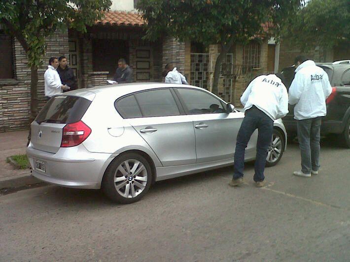 Arba retuvo un BMW que nunca había pagado patente y su propietario abonó 34 mil pesos en el acto