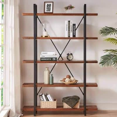 Pin On 9 Best Solid Wood Bookcases In 2020