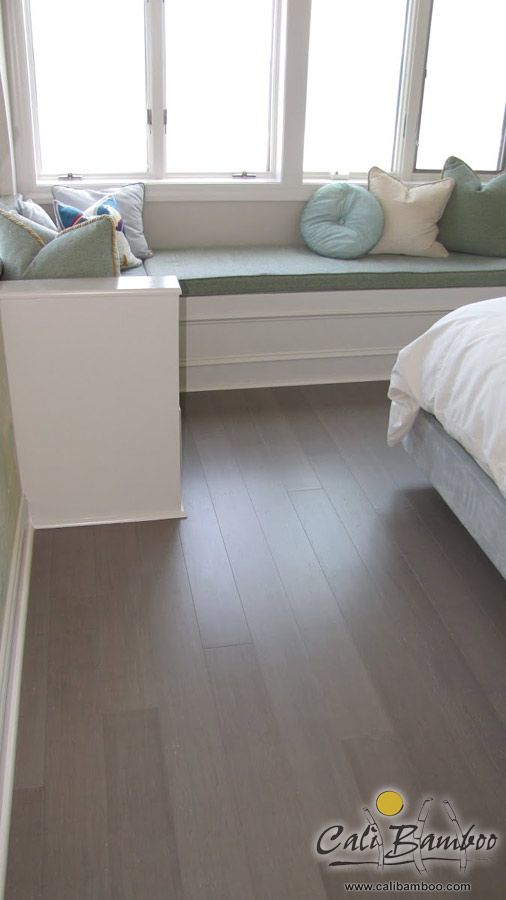 Light Gray Hardwood Floors Vintage Moonlight Bamboo