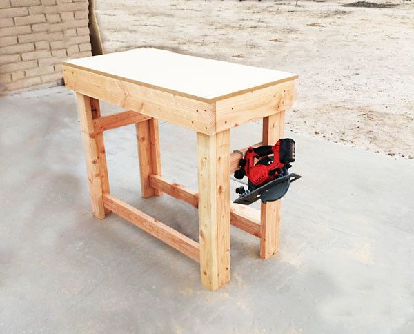 Diy Small Workbench Myoutdoorplans Free Woodworking Plans And