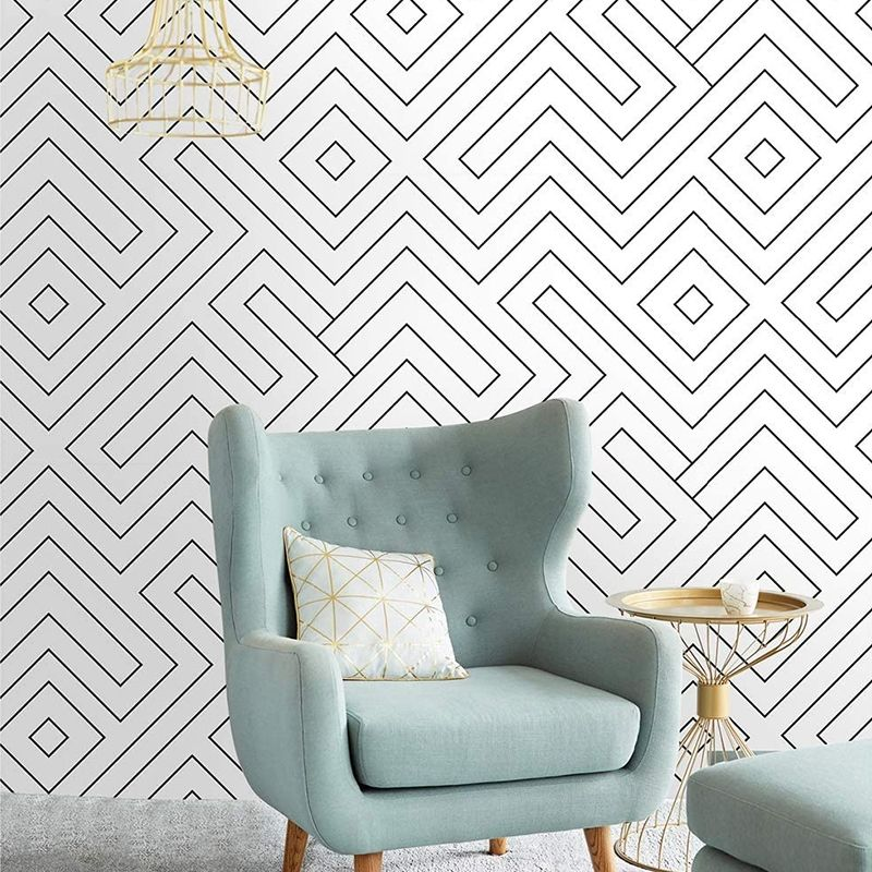 Hollow Square Peel And Stick Wallpaper Peel And Stick Wallpaper Simple Designs Puzzle Box