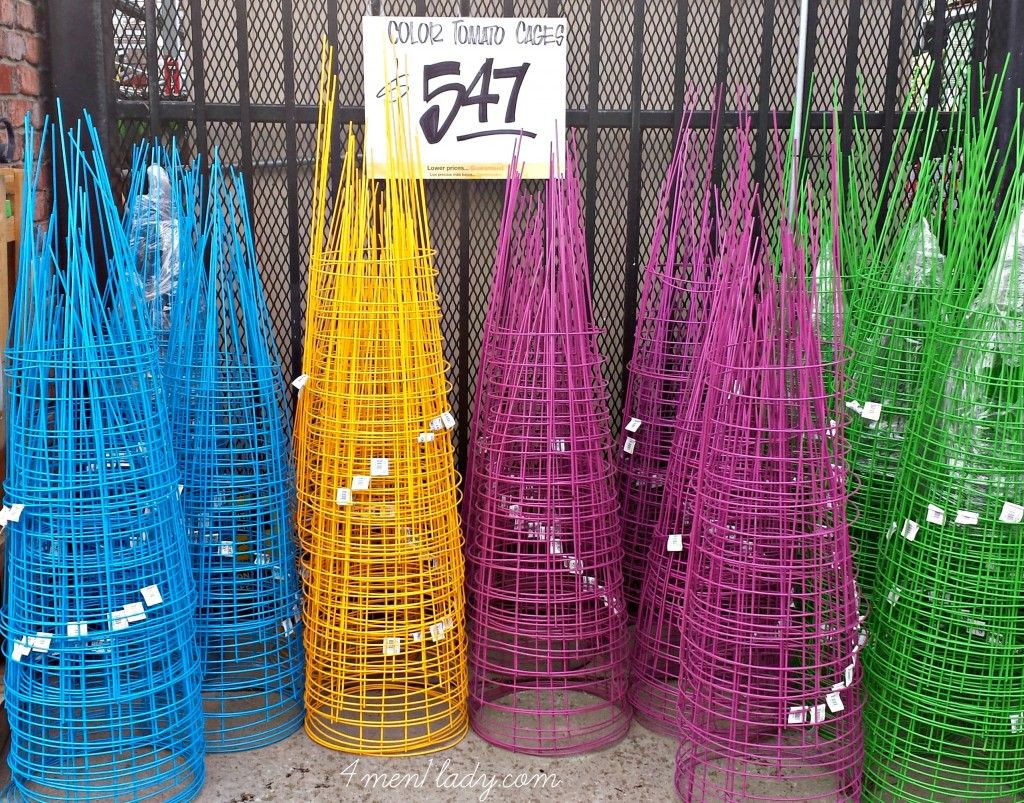 Diy Tomato Cage P*T Planter With Images Tomato Cages 640 x 480