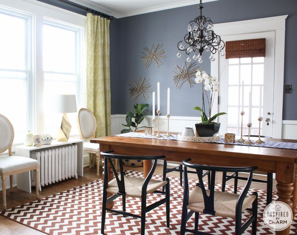 benjamin moore dining room colors | Like the color combos in this dining room.. Walls are ...
