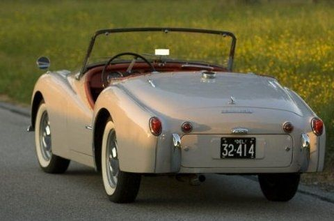 Unrestored Time Capsule: 1959 Triumph TR3
