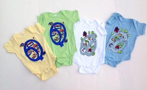 Baby Race Track Onesie T-Shirt. Road Map Race by swankyturtle