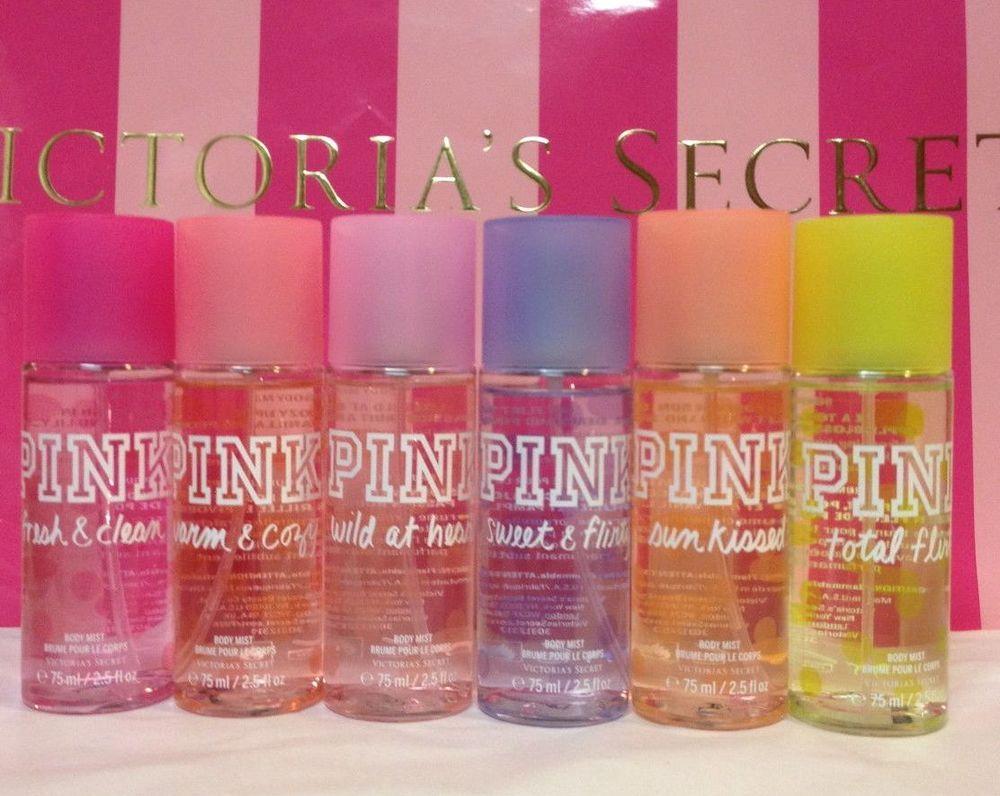 63dbdd6918f86 Details about Victoria's Secret PINK Mini Mist Body Splash Spray ...