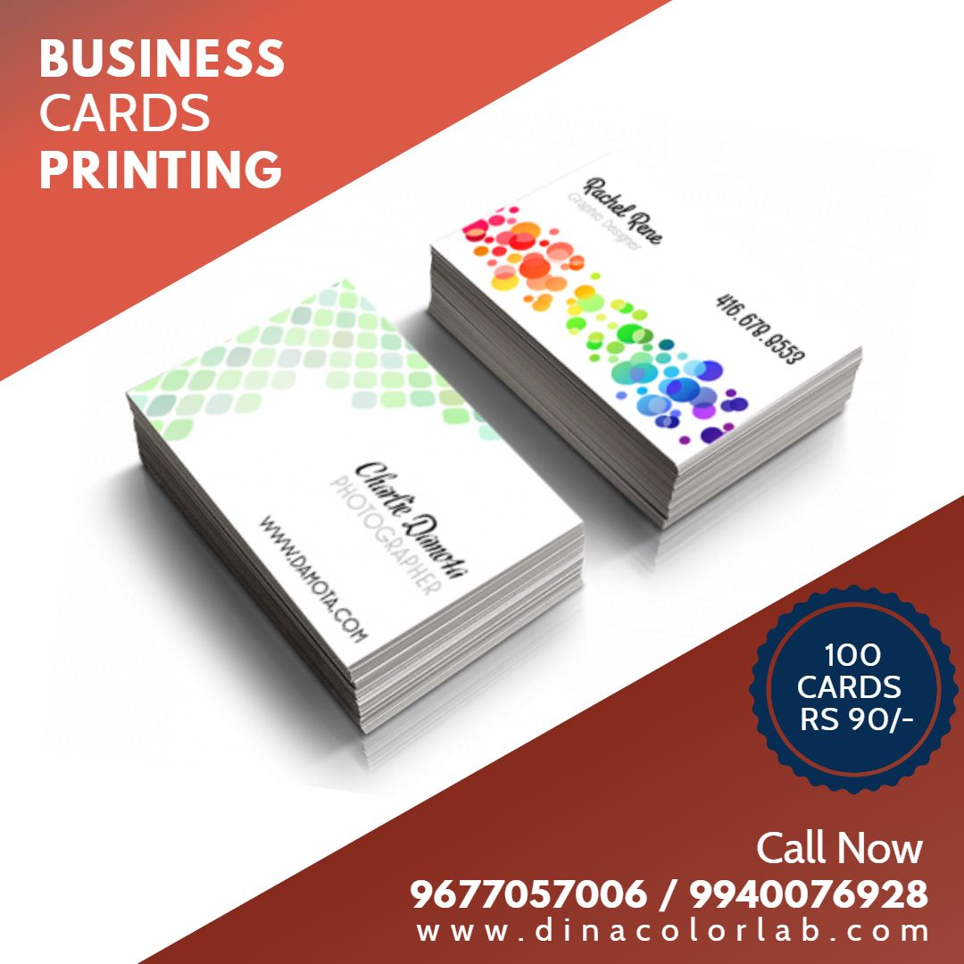 Business Cards Printing Online In Madurai Printing Business Cards Visiting Card Printing Printed Cards
