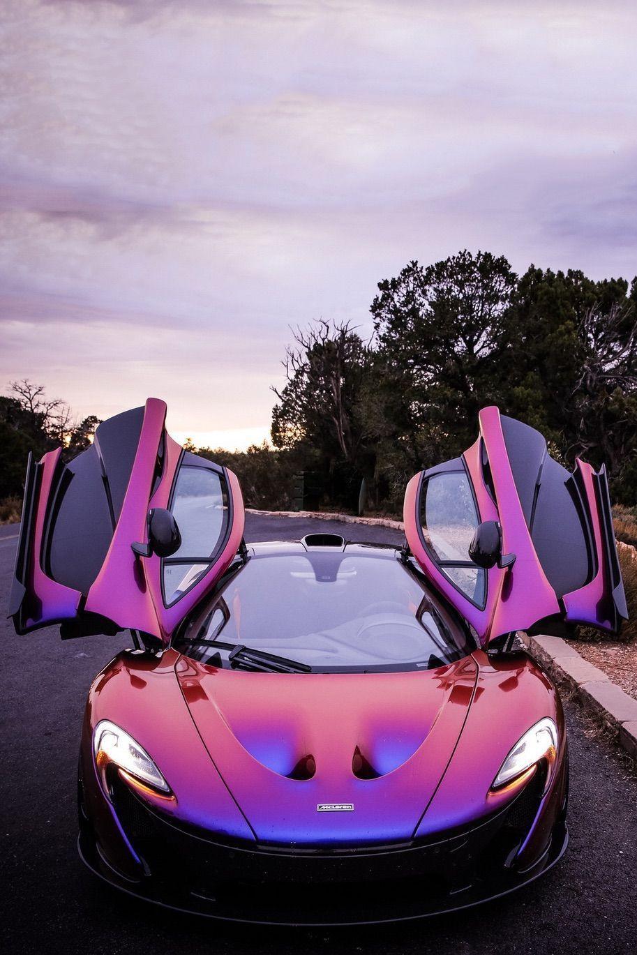 What It Was Like Driving My Dream Car, A Hyperblurple McLaren P1, Home #