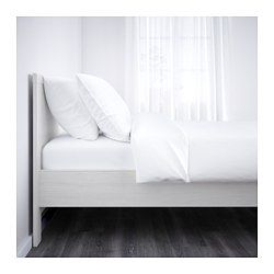 IKEA - BRUSALI, Bed frame, Standard Double, Luröy, , Adjustable bed sides allow…