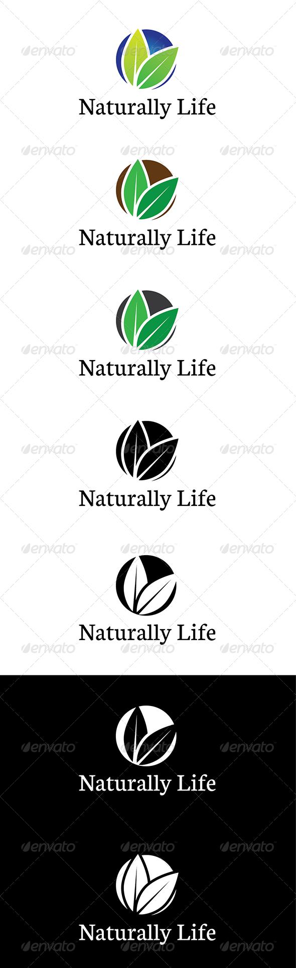Naturally Life Logo