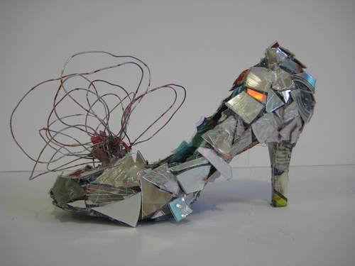 Shoe Sculpture | Salvador Dali inspired shoe sculpture in