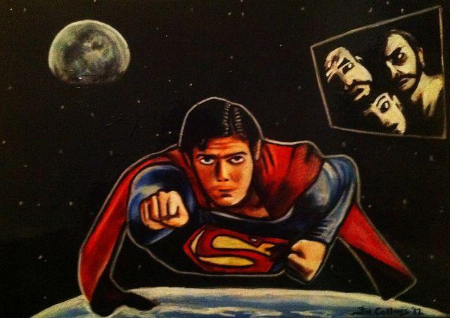 #superman http://www.ryanmercer.com Billionaire co-founder of Umbrella Corp
