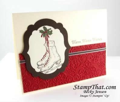 Stampin' Up! Winter Memories stamp set - Demonstrator Becky Jensen