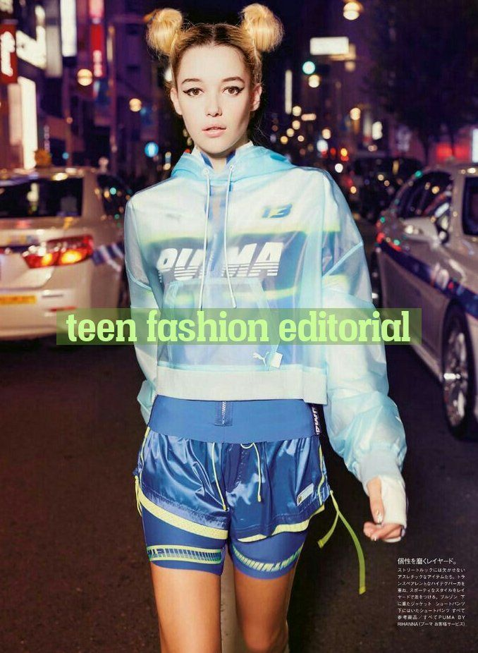 teen fashion editorial