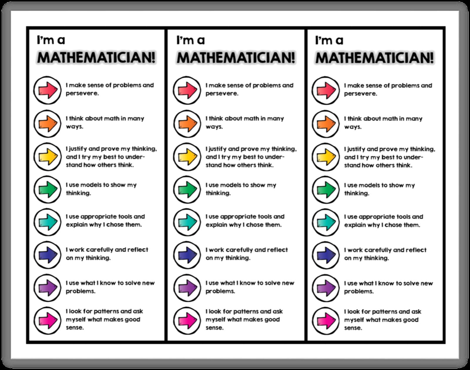 I M A Mathematician Bookmarks