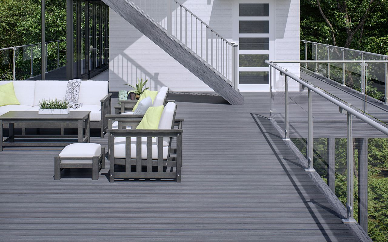 5 Types of Deck Railings You Will Love   Glass railing ...